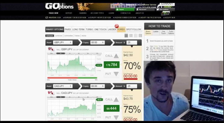 Binary option trader adam khan